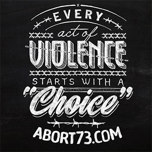 "Every Act of Violence Starts with a ""Choice"""