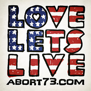 Love Lets Live (Flag)