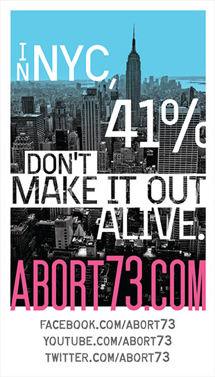 In NYC, 41% Don't Make it Out Alive