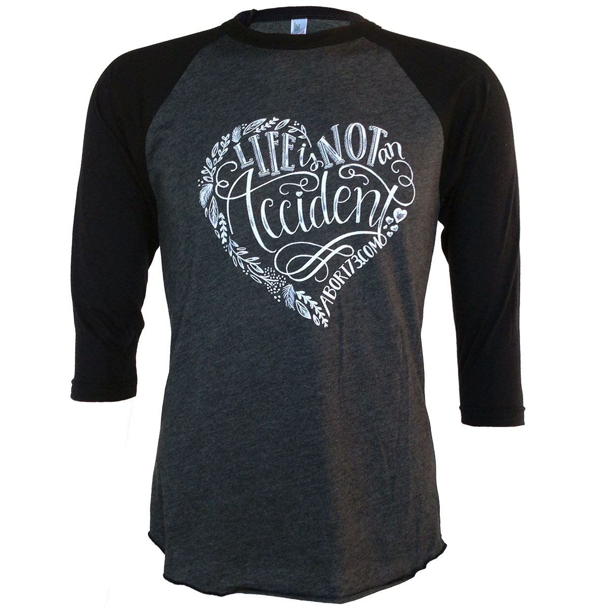 Life Is Not an Accident (Abort73 Unisex Raglan)