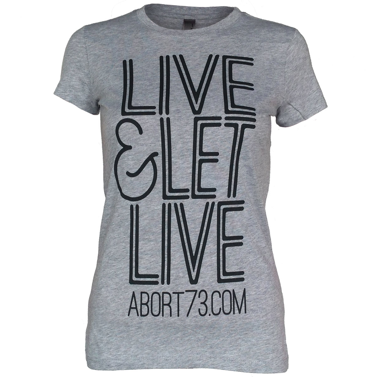 Live & Let Live (Abort73 Girls T-shirt 3300L)