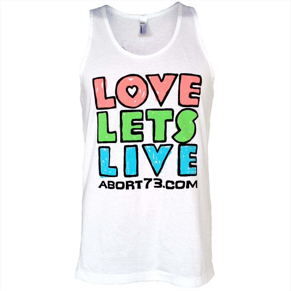 Love Lets Live (Alternate) (Abort73 Unisex Tank)