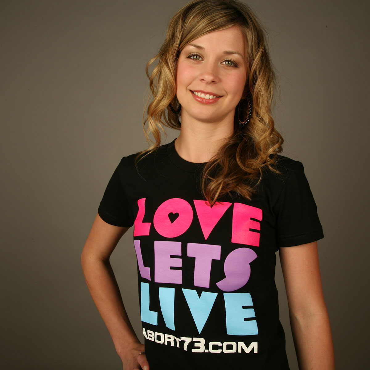 Love Lets Live (Abort73 Girls T-shirt)