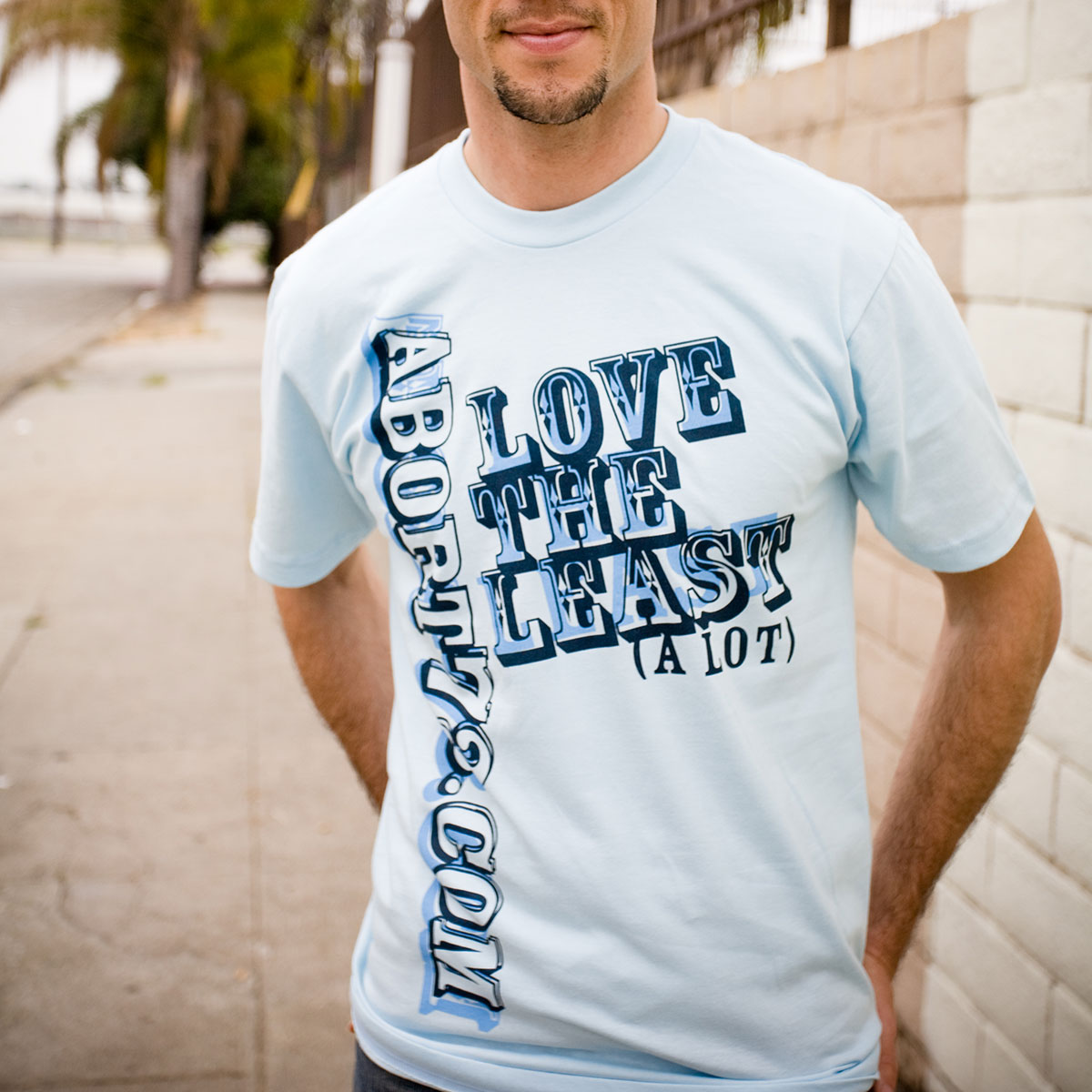 Love the Least (A Lot) (Abort73 Unisex T-shirt)