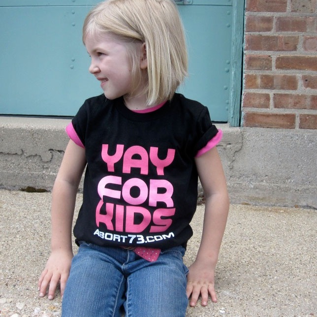 Yay for Kids (Abort73 Kids T-shirt)