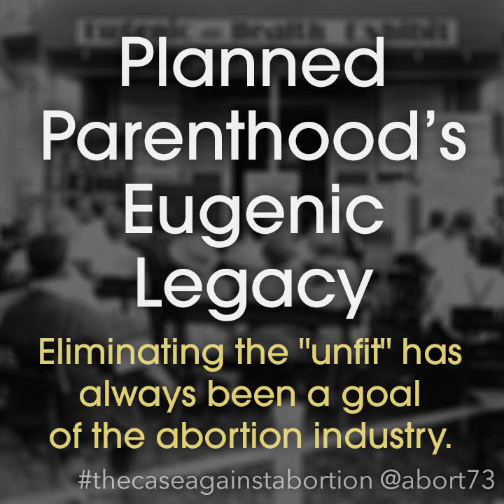 Planned Parenthood's Eugenic Legacy: Eliminating the